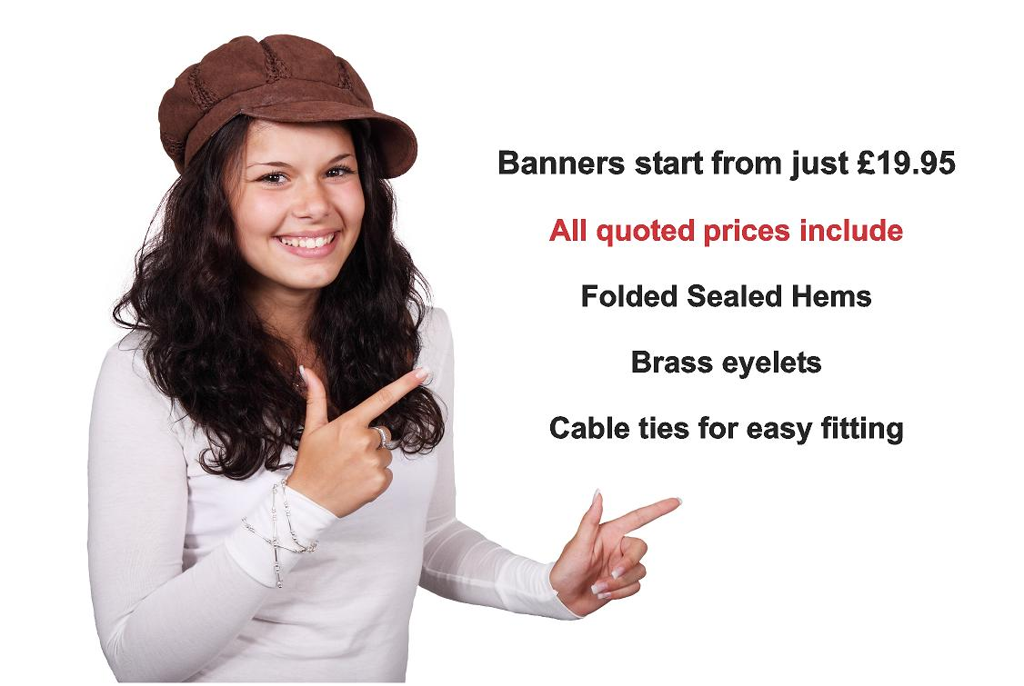 PVC banner prices