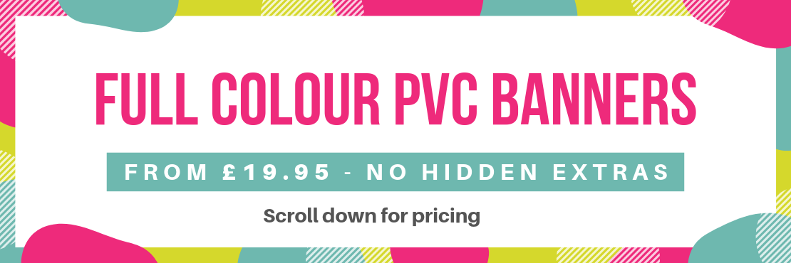 full colour banners
